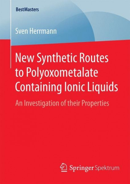 New Synthetic Routes to Polyoxometalate Containing Ionic Liquids