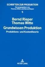 Grundwissen Produktion