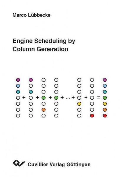 Engine Scheduling by Column Generation