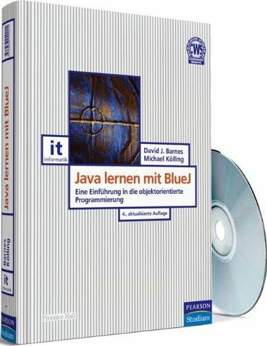 Java lernen mit BlueJ