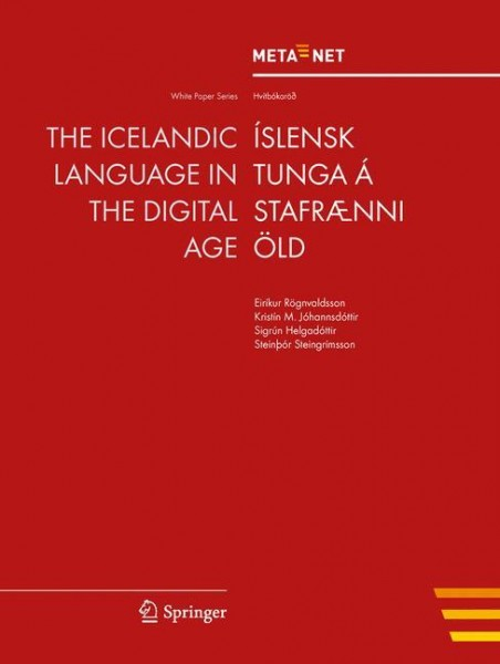 The Icelandic Language in the Digital Age
