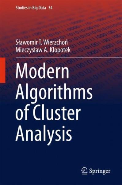 Modern Algorithms of Cluster Analysis