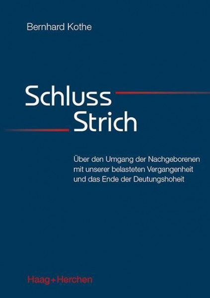 Schluss-Strich
