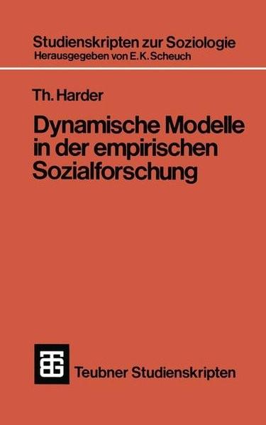 Dynamische Modelle in der empirischen Sozialforschung