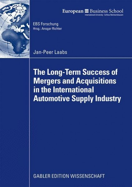 The Long-term Success of M&A in the Automotive Supply Industry