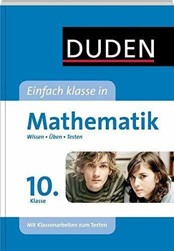 Duden - Einfach klasse in - Mathematik 10. Klasse