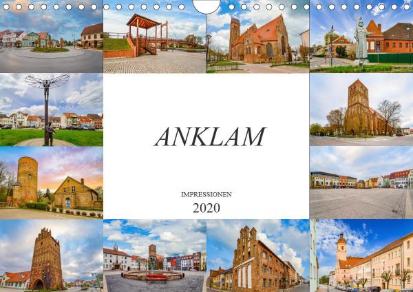 Anklam Impressionen (Wandkalender 2020 DIN A4 quer)