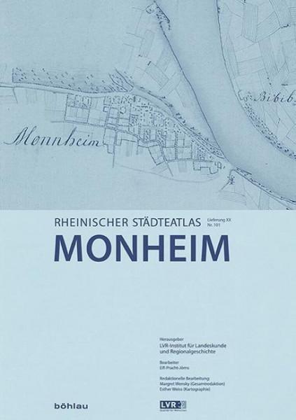 Rheinischer Städteatlas 99. Monheim