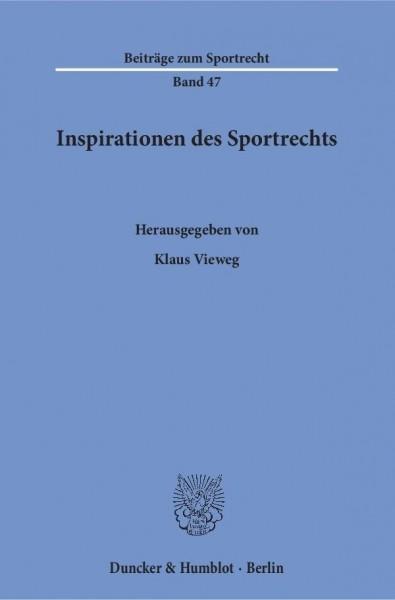 Inspirationen des Sportrechts