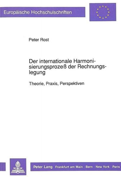 Der internationale Harmonisierungsprozeß der Rechnungslegung