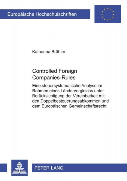 Controlled Foreign Companies-Rules