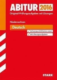 Abiturprüfung Niedersachsen - Deutsch GA/EA