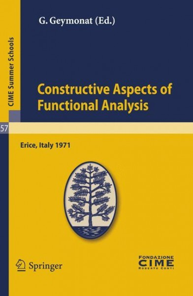 Contsructive Aspects of Functional Analysis