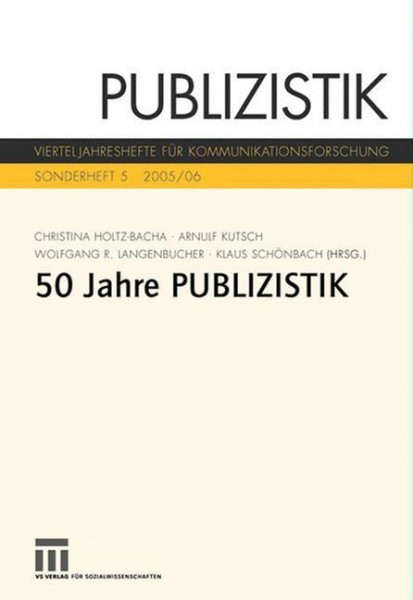 Fünfzig Jahre Publizistik