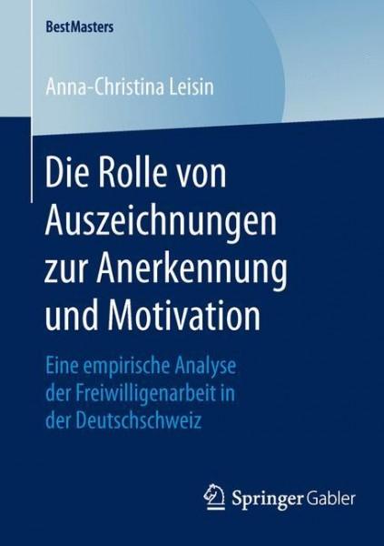 Die Rolle von Auszeichnungen zur Anerkennung und Motivation