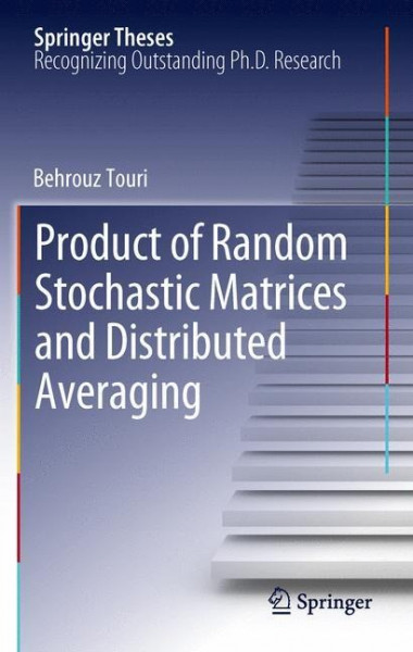 Product of Random Stochastic Matrices and Distributed Averaging