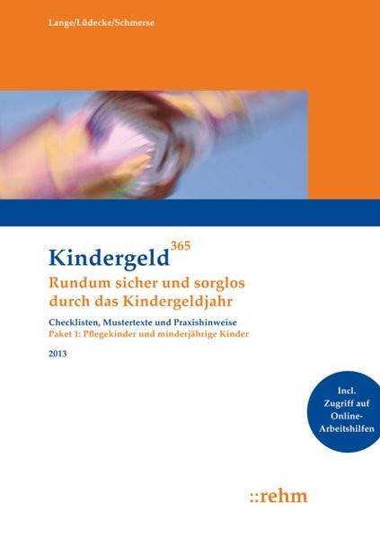 Pflegekinder und minderjährige Kinder 2013: Rundum sicher und sorglos durch das Kindergeldjahr