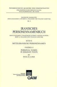 Iranisches Personennamenbuch / Personal Names in Sogdian Texts