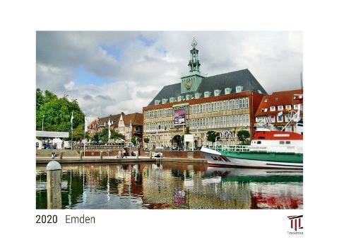 Emden 2020 - White Edition - Timokrates Kalender, Wandkalender, Bildkalender - DIN A4 (ca. 30 x 21 c