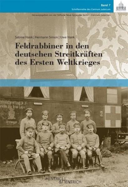 Feldrabbiner in den deutschen Streitkräften des Ersten Weltkrieges