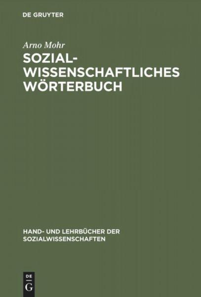 Sozialwissenschaftliches Wörterbuch