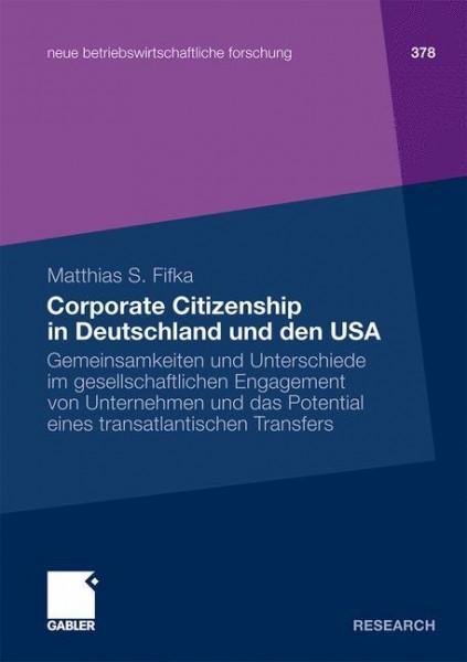 Corporate Citizenship in Deutschland und den USA