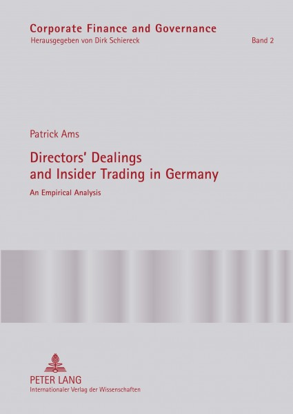 Directors' Dealings and Insider Trading in Germany