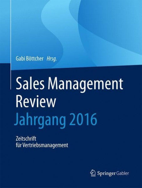 Sales Management Review - Jahrgang 2016
