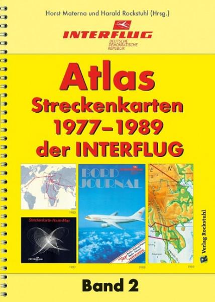 ATLAS Streckenkarten der INTERFLUG 1977-1989
