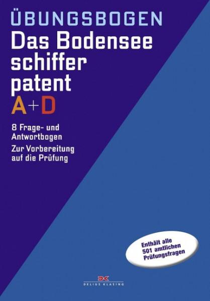 Bodenseeschifferpatent A + D Übungsbogen