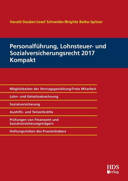Personalführung, Lohnsteuer- und Sozialversicherungsrecht für Kompakt