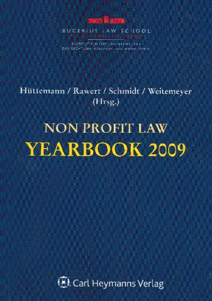 Non Profit-Law Yearbook 2009