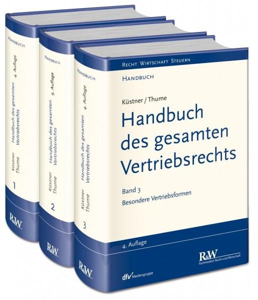 Handbuch des gesamten Vertriebsrechts