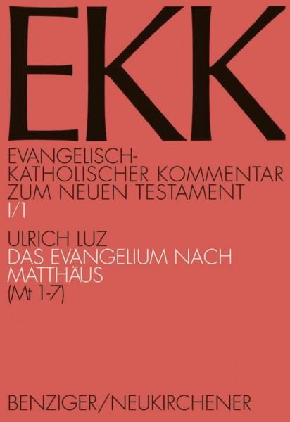 Das Evangelium nach Matthäus, EKK I/1