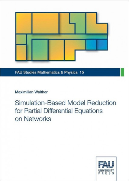 Simulation-Based Model Reduction for Partial Differential Equations on Networks
