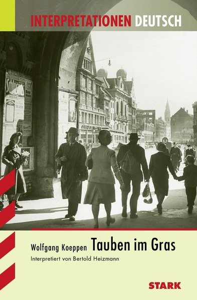 Interpretationen Deutsch - Koeppen: Tauben im Gras
