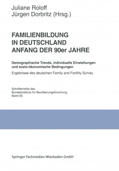 Familienbildung in Deutschland Anfang der 90er Jahre