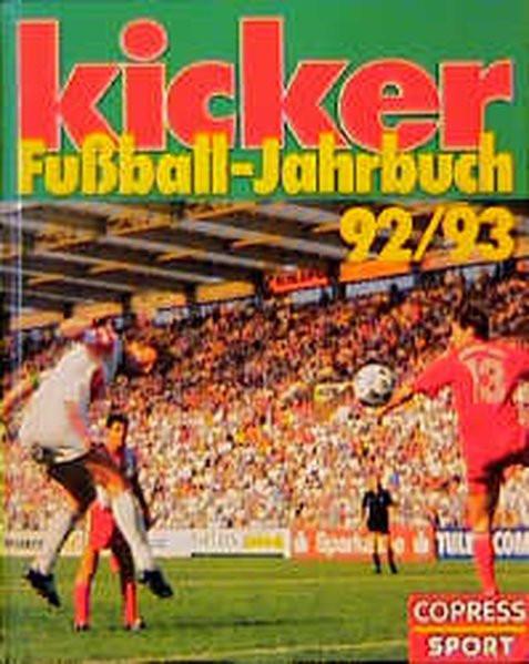 kicker Fussball-Jahrbuch 92/93