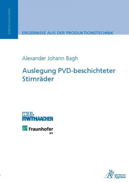Auslegung PVD-beschichteter Stirnräder