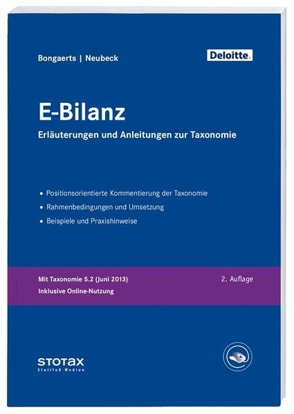 E-Bilanz: Erläuterungen und Anleitungen zur Taxonomie