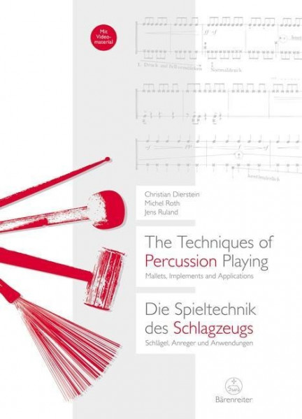 The Techniques of Percussion Playing / Die Spieltechnik des Schlagzeugs