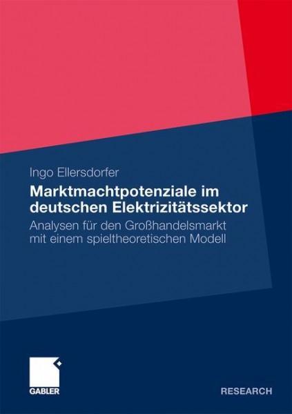 Marktmachtpotenziale im deutschen Elektrizitätssektor