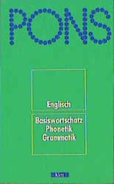 PONS Wörterbuch. Englisch. Basiswortschatz