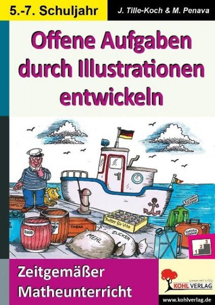 Offene Aufgaben durch Illustrationen entwickeln