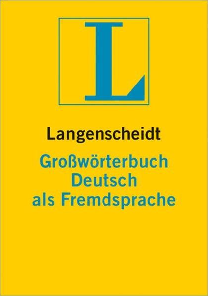Langenscheidt Großwörterbuch Deutsch als Fremdsprache - Buch (Hardcover) + CD-ROM